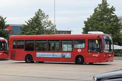 AL 8810 @ Hatton Cross bus station (ianjpoole) Tags: abellio london alexander dennis enviro 200 yx12efr 8810 working route h25 hatton cross bus station churchfields avenue hanworth