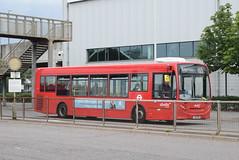 AL 8815 @ Hatton Cross bus station (ianjpoole) Tags: abellio london alexander dennis enviro 200 yx13efw 8815 working route h25 hatton cross bus station churchfields avenue hanworth