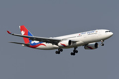 Nepal Airlines Airbus A330-243 9N-ALY (EK056) Tags: nepal airlines airbus a330243 9naly bangkok suvarnabhumi airport