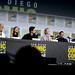 Linda Hamilton, Natalia Reyes, Diego Boneta, Mackenzie Davis, Gabriel Luna & Arnold Schwarzenegger