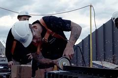 Construction [Nikon F5 Film] (Aviator195) Tags: nikon nikonfilm nikonf5 kodak kodakfilm kodakportra kodakportra400 portrafilm portra400 portra pushprocessed 35mm 35mmfilm film filmisnotdead filmphotography filmscan filmphoto filmphotos filmlives analog analogue grain australia 2019 melbourne victoria construction building constructionworker worker builder