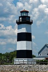 The Governor's Lighthouse (johnaalex) Tags: d850 nikonafs80400f4556g america usa southcarolina lighthouse