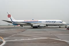 ZS-OZV (PlanePixNase) Tags: airport aircraft hannover haj planespotting eddv cargo douglas mcdonnell dc8 langenhagen africaninternationalairways aiaflycargo dc86070