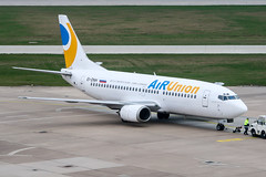 EI-DNH (PlanePixNase) Tags: hannover aircraft airport planespotting haj eddv langenhagen airunion krasair boeing 737300 733 737 b733