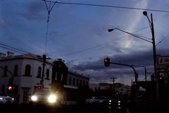 Somewhere in Melbourne [Nikon F5 Film] (Aviator195) Tags: nikon nikonfilm nikonf5 kodak kodakfilm kodakportra kodakportra400 portrafilm portra400 portra pushprocessed 35mm 35mmfilm film filmisnotdead filmphotography filmscan filmphoto filmphotos filmlives analog analogue grain australia 2019 melbourne victoria sky contrast clouds