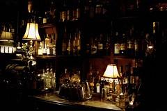 Whisky in the Jar [Nikon F5 Film] (Aviator195) Tags: nikon nikonfilm nikonf5 kodak kodakfilm kodakportra kodakportra400 portrafilm portra400 portra pushprocessed 35mm 35mmfilm film filmisnotdead filmphotography filmscan filmphoto filmphotos filmlives analog analogue grain australia 2019 melbourne victoria lowlight dark bar whisky gin pub lamp