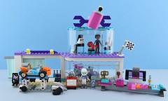 LEGO 41315 Creative Tuning Shop (Alex THELEGOFAN) Tags: lego friends set sets review creative tuning shop 41315