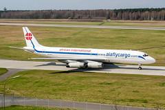 ZS-OZV (PlanePixNase) Tags: hannover aircraft airport planespotting haj eddv langenhagen douglas dc86070 dc8 mcdonnell africaninternationalairways aiaflycargo cargo