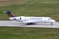 D-ACRI (PlanePixNase) Tags: airport aircraft hannover haj planespotting eddv regional bombardier crj200 langenhagen eurowings crj2