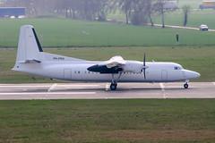 PH-PRH (PlanePixNase) Tags: hannover aircraft airport planespotting haj eddv langenhagen fokker 50 f50 denimair