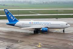 G-BOPB (PlanePixNase) Tags: hannover aircraft airport planespotting haj eddv langenhagen boeing 767200 767 b762 xlcom excel
