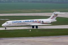 SE-RBA (PlanePixNase) Tags: hannover aircraft airport planespotting haj eddv langenhagen mcdonnell douglas md87 nordicleisure