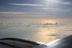 O C E A N / S U N R I S E (jrslv_) Tags: 2019 indonesia ocean sunrise wing pacific asia equator sky atmosphere sunray flare vapour east jet airplane water morning aerial 10000ft unsustainable canon 50mm f12l
