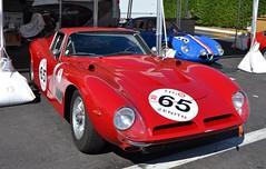BIZZARRINI 5300 GT - 1965 (SASSAchris) Tags: bizzarrini 5300 gt voiture italienne 10000 tours castellet circuit ricard v8 stradale httt htttcircuitpaulricard htttcircuitducastellet 10000toursducastellet