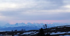 Aurore sur les Alpes depuis le Creux du Van (patrick68110) Tags: aurore aube soleil alpes
