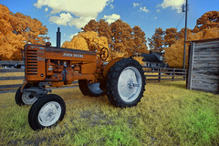 'Tractor', Forsyth County, Georgia (Infrared Photography- False Colors)  (jc reyes) Tags: travels ir infrared infraredmaster digitalinfrared infraredimages infraredworld infraredphoto irfilter irphotography colorinfrared falsecolors invisiblelight creativeir creativeiramericas creativeireurope iginfrared photography infraredcamera infraredlandscape kolarivision jawdroppingshots epiccaptures igworld nikon nikonphotography nikkor usa forsyth georgia