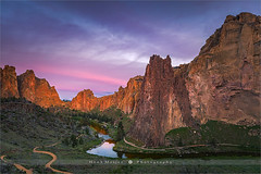 Smith Rock State Park - Oregon - USA (~ Floydian ~) Tags: henkmeijer photography floydian smithrock crookedriver oregon statepark sunrise morning dawn american leefilters landscapes landscape smithrockstatepark wideview canon canontse24mmf35lii canon5dmarkiv