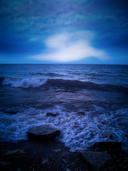 Moody Blues (In Explore 7/24/19) (michellewendling907) Tags: dawn blue lake michigan illinois openlands moody breathtaking landscapes