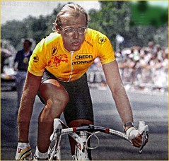1989 TDF The Man who two times the Tour de France (Sallanches 1964) Tags: tourdefrance 1989 laurentfignon tourdefrancewinners giroditalia milanosanremo yellowjersey roadcycling