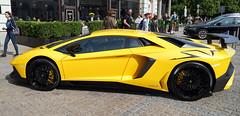 Someone Has Money (mandalaybus) Tags: lamborghini car cars auto autos automobile automobiles warsaw poland yellow 5photosaday
