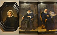 From Left to Right: Portrait of Aeltje Uylenburg, Maria Bockenolle, and Reverend Johannes Elison by Rembrandt van Rijn, In the Age of Rembrandt, Royal Ontario Museum, Toronto, ON (Snuffy) Tags: portraitofaeltjeuylenburg mariabockenolle reverendjohanneselison rembrandtharmenszoonvanrijn rembrandt intheageofrembrandt royalontariomuseum rom toronto ontario canada musictomyeyes