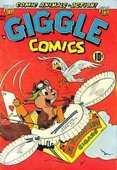 Giggle Comics 86 (Michael Vance1) Tags: art adventure artist anthology funnyanimals comics comicbooks cartoonist goldenage