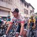 FR19 Julian Alaphilippe, yellow jersey. Le Tour de France, stage 15. Bélesta, Ariège (Rolleiflex 3,5 Ektar100) 11