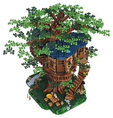 LEGO Reveals Ideas Tree House Set (fbtb) Tags: 21318 tree house