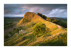 Light on the Land (Dave Fieldhouse Photography) Tags: peakdistrict peaks landscape landscapephotography backtor thegreatridge edale hopevalley evening sunset clouds lonetree path trees hawthorn hill summer fuji fujifilm fujixt2 wwwdavefieldhousephotographycom landslip geology losehill