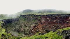 Mihara-yama volcano crator in Oshima island