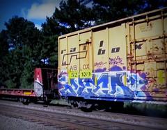alto (timetomakethepasta) Tags: alto hofk boxstars freight train graffiti art railbox boxcar abox hof box stars