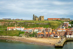 SJ2_0140 - Whitby (SWJuk) Tags: uk unitedkingdom britain yorkshire gb northyorkshire swjuk houses sea summer beach landscape coast seaside nikon holidays harbour coastal whitby hillside stmaryschurch whitbyabbey cliffside 2019 clevelandway nikkor1755mmf28 rawnef d7200 nikond7200 lightroomclassiccc jul2019