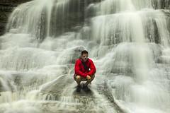 Hang a While (Matt Champlin) Tags: me selfie water waterfall hike hiking adventure fun summer life kip kipmoore outdoors rain love women flx fingerlakes waterfallin skaneateles ny red le