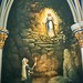 South Bend  - Indiana -  Basilica of the Sacred Heart in Notre Dame - The Grotto of Our Lady of Lourdes Mural