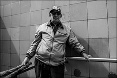 DRD160605_01340 (dmitryzhkov) Tags: urban city everyday public place outdoor life human social stranger documentary photojournalism candid street dmitryryzhkov moscow russia streetphotography people man mankind humanity bw blackandwhite monochrome