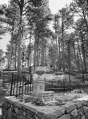 Mount Moriah Cemetery: Calamity Jane (LarsHolte) Tags: pentax 645 pentax645 645n 6x45 smcpentaxa 35mm f35 120 film 120film analog analogue kosmo foto mono 100iso mediumformat blackandwhite classicblackwhite bw monochrome filmforever filmphotography ishootfilm d76 larsholte homeprocessing usa southdakota deadwood mountmoriah cemetery explored