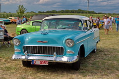 Chevrolet Belair (olds.wolfram) Tags: chevrolet belair auto car oldtimer coche voiture wiese