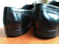 Prepared for the new owner (Adam11051983) Tags: black captoes dress footwear formal lace leather men mens shoe shoes