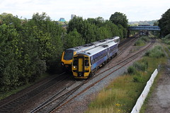 Northern 158786 (TC60054) Tags: northern rail arriva north class 158 express sprinter dmu diesel multiple unit abellio scotrail train railway sheffield south yorkshire first