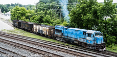 DSCF5261, Annapolis Jcn., MD 6-19-2019 (Rkap10) Tags: locomotives maryland other places u23b vulcanmaterials railroad