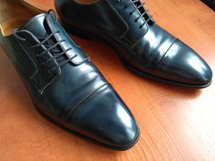 Blue captoes 1 (Adam11051983) Tags: blue captoes dress footwear formal lace leather men mens shoe shoes