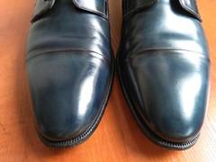 Blue captoes 3 (Adam11051983) Tags: blue captoes dress footwear formal lace leather men mens shoe shoes
