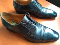 Blue captoes 4 (Adam11051983) Tags: blue captoes dress footwear formal lace leather men mens shoe shoes