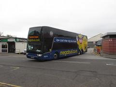 50248, Dundee, 01/09/18 (aecregent) Tags: dundee 010918 stagecoach megabus citylink scottishcitylink vanhool tdx27 astromega 50248 s sv62bcz