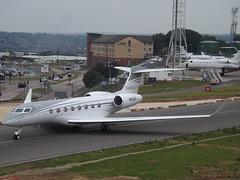 N650GD Gulfstream G650ER (Gulfstream Aerospace Corporation) (Aircaft @ Gloucestershire Airport By James) Tags: luton airport n650gd gulfstream g650er aerospace corporation bizjet eggw james lloyds