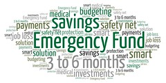 Emergency Fund (Ben Taylor55) Tags: emergency fund safety net solution savings 3 6 months investments smart medical budgeting tags words tagcloud wordcloud