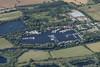 Hartford Marina in Wyton near Huntingdon in Cambridgeshire - UK aerial image