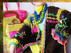 Wiener Schnitzel country - song (MizzieMorawez) Tags: alpine folklore coat contemporary interpretation traditionalregionalwardrobe expansiveembroidery asymmetricruffles embellishedsleeve crochetedornamentsonthehemline designerstück fashioncomedy sculptured appliqué colorful unorthodox handknit gesamtkunstwerk catwalk unique expressive exzentrisch eccentric wearableart tragbarekunst trachtenlook tracht