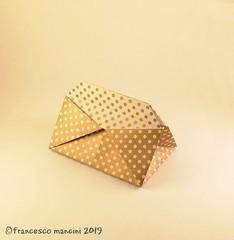 Scatola Giandojòt (mancinerie) Tags: origami paperfolding papiroflexia papierfalten francescomancini mancinerie box