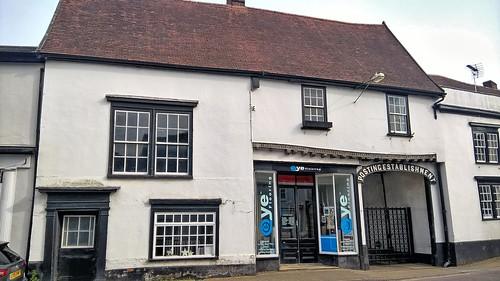 UK, Suffolk, Eye former Post Office or Posting Establishment